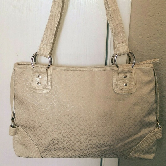 Icing Handbags - Icing by Clarie's Beige Woman's Tote